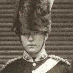 Lt A THOMPSON  Volunteers c 1890.