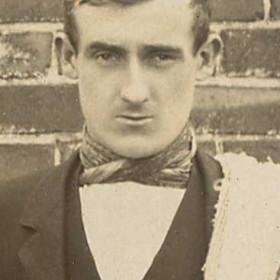 R THOMPSON; Seaham Thistle 1909