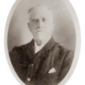 Mr Harrison, member of Seaham Harbour Council 1911.John Harrison lived at 45 Marlborough St