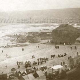 Blackhall Rocks c 1905.