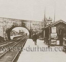Castle Eden Railway Station.