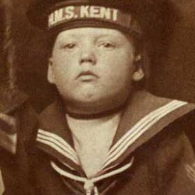 Arthur Wallace b 1911. Son of Simpson Longstaff Wallace. Photo c1916
