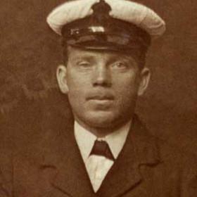 Simpson Longstaff Wallace, husband of Ada Hudson Wallace b 1889. Photo c1916