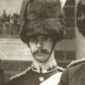 Lt R WARHAM   Volunteers  c 1890.
