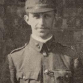 Lt S WARHAM  Volunteers  1911.