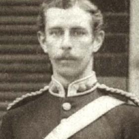 Lt W WARHAM  Volunteers  c 1890.