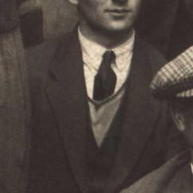BERT WATSON, butcher in Church St. lived in Princess Rd   P/graph c 1930