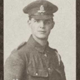 L WICKINGS, p/graph from St John's Roll of Hon. WW1