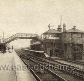 Washington was an important railway junction where the Newcastle to Leamside Railway via the Victoria Bridge crossed the Stanhope to Tyne Railway. Passenger services at Washington Station were withdrawn in 1963, although the Station continued in service for special trains to the Durham Miners Gala each July. (very little now remains of the station) early 1900's