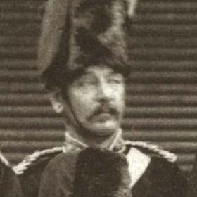 Major G YOUNG  Volunteers  c 1890.