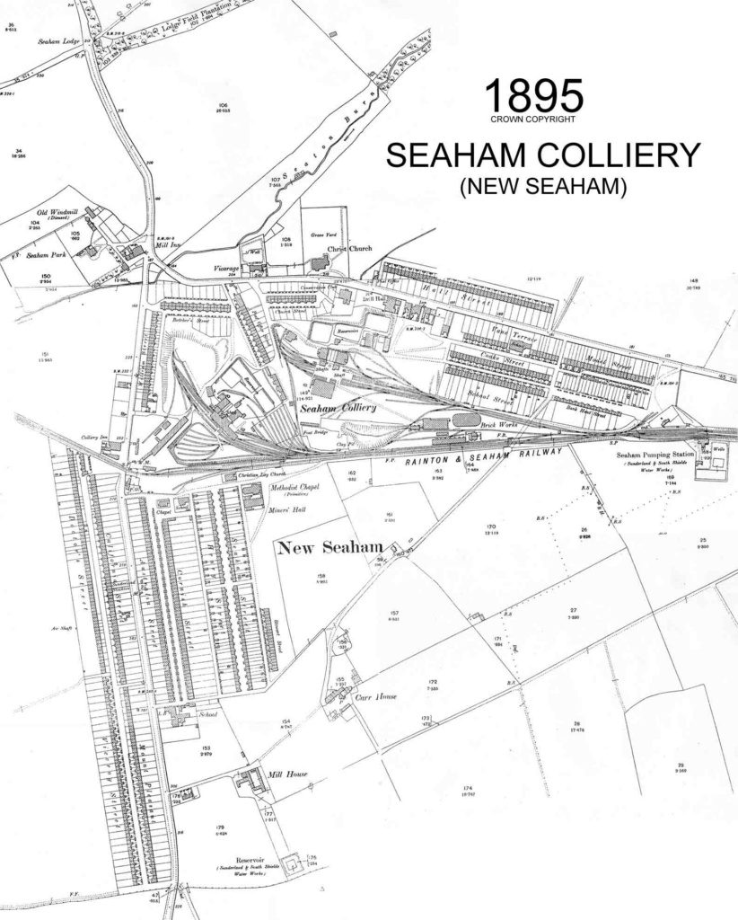 Seaham Colliery 1895